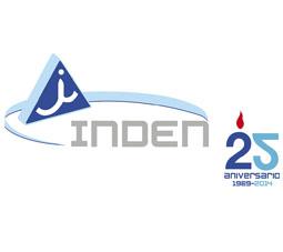 Logo INDEN  aniversariopeque