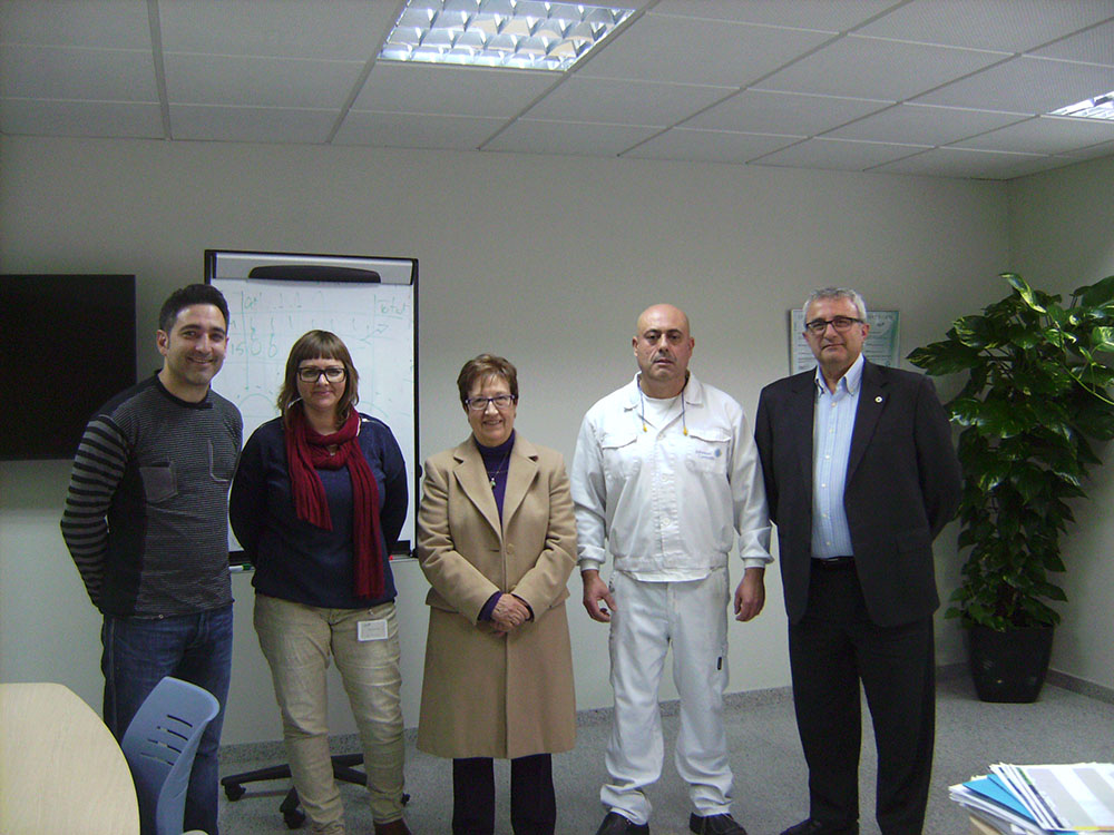 Donación solidaria de JOHNSON CONTROLS PLASTICS SPAIN, S.A
