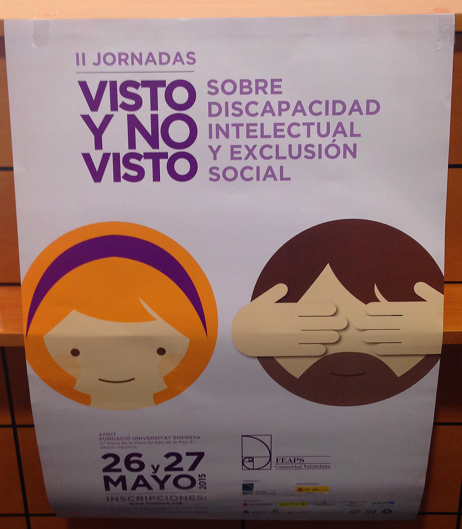"""Participación en las Jornadas """"Visto y No Visto"""""""