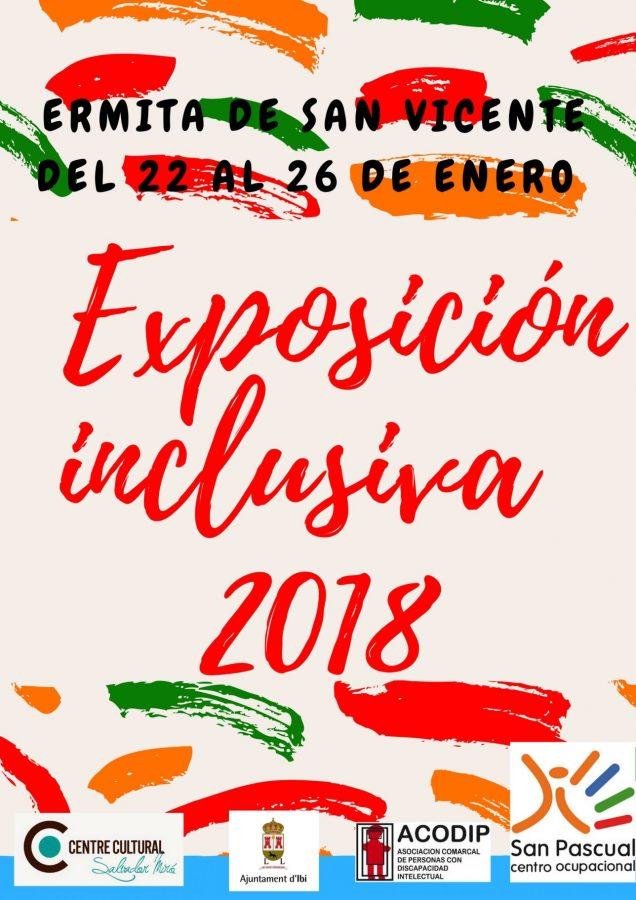 EXPOSICIÓN INCLUSIVA 2018