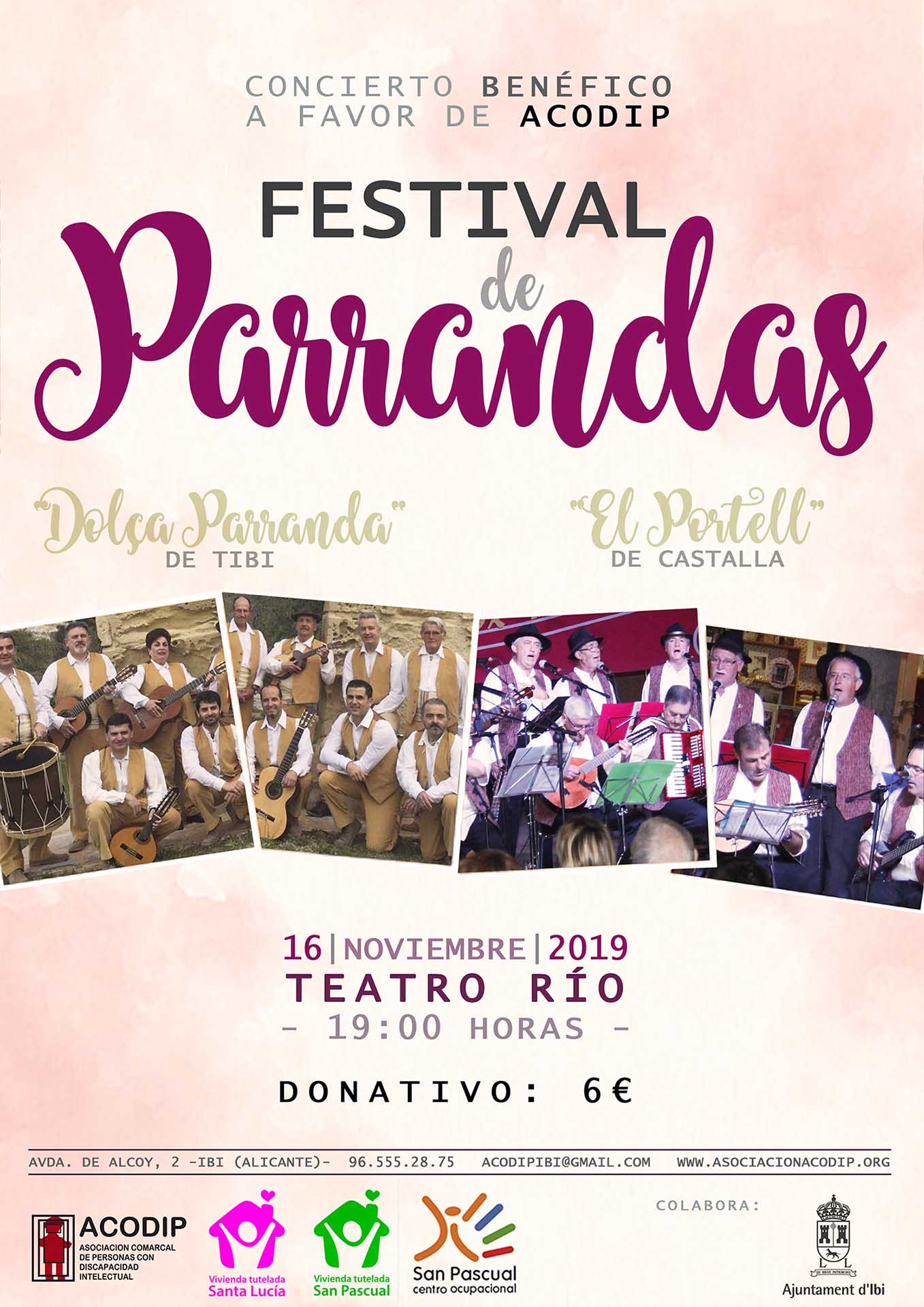 Festival de Parrandas – 16 noviembre 2019