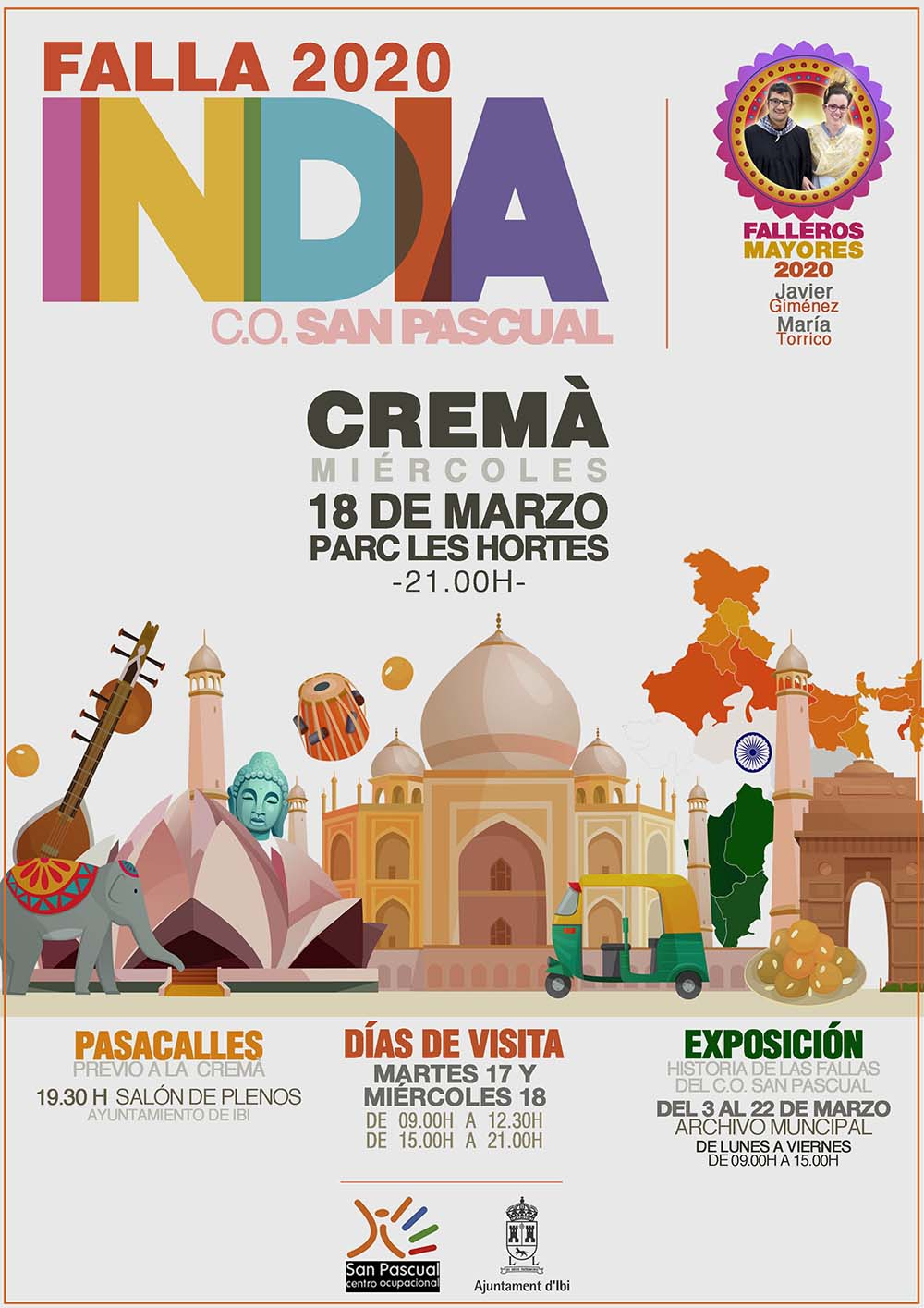 APLAZADO: FALLA 2019 – INDIA