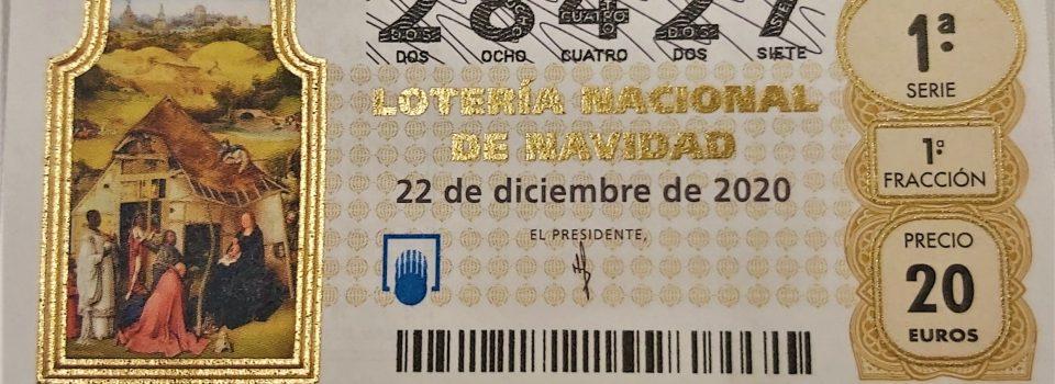 Nuestro décimo de lotería para Navidad 2020