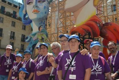 Visita a las Hogueras de Alicante – Junio 2015